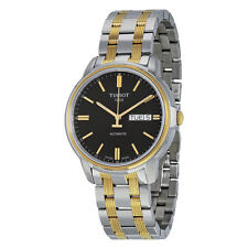 Tissot Automatic III Black Dial Two-tone Ladies Watch T0654302205100