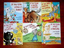 Laura Numeroff If You Give Mouse A Cookie LOT of 6 Childrens Books Pack NEW SET