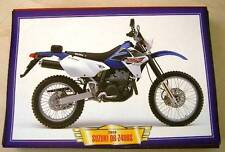 SUZUKI DR Z400 S Z 400 CLASSIC MOTORCYCLE DIRT BIKE 2000'S PICTURE