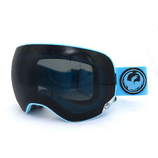Dragon X2 Blue Dark Smoke + Spare Lens  Snowboard/Ski APX2 Goggles NEW!