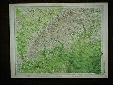 1903 MAP ~ AYLESBURY READING HENLEY ON THAMES GREAT MARLOW & VILLAGES