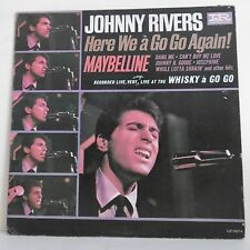 """33T Johnny RIVERS Disque LP 12"""" HERE WE A GO GO AGAIN Rock IR IMPERIAL 9264"""