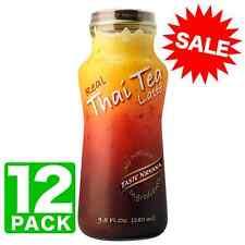 Taste Nirvana All Natural Real Thai Tea Latte | 12 x 9.5oz Bottles