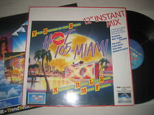 "Various Artists - Hot 105 FM Miami 12"" instant mix  12'' Vinyl Maxi"