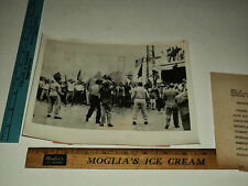 Original Vintage 1955 French Soldiers Troops Meknes Morocco AP Press Photo