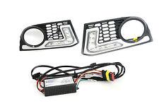 LED DRL Daytime Running Fog Lights for BMW 5 Series F10 10+ M-tech M-technik