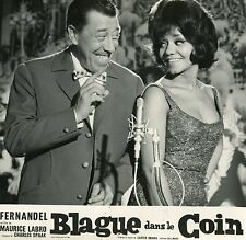 NANCY HOLLOWAY FERNANDEL BLAGUE DANS LE COIN 1963 PHOTO D'EXPLOITATION N°1