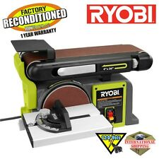 Ryobi BD4601G 4 in. x 36 in. Belt / 6 in. Disc Sander Green ZRBD4601G Reconditio