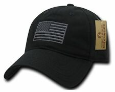 Baseball Cap Plain USA Flag Army Trucker Fashion Hat Military Hunting Camo Caps
