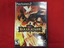 Makai Kingdom: Chronicles of the Sacred Tome - Ps2 Game Complete free shipping