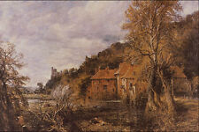 566039 Arundel Mill And Castle John Constable A4 Photo Print