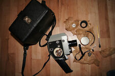 quartz quarz 5 russian cine camera camcorder 8mm complete in bag