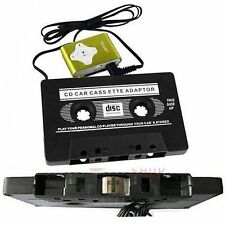Cassetta Tape ADATTATORE PER MP3 IPOD NANO CD MD CONVERTITORE Ponte Auto Iphone Nero