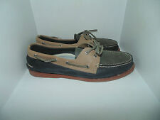 Mens 13 Sperry Top Sider A/O Relaxed 2 Eye Boat Shoes