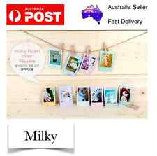 Milky 20 pcs Polaroid Photo Films Sticker Album FujiFilm Instax Mini 8/7/7S/90
