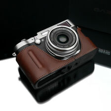 GARIZ Black Label leather case Fujifilm Fuji X100 X100T X100S BL-X100BR Brown