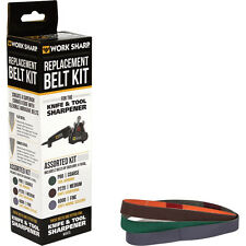 Work Sharp WSSA0002012 Knife and Tool Sharpener Replacement Belt Kit