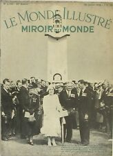 Le monde Illustré miroir du Monde n°4202 - 1938 - Tour de France - Royaumont