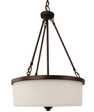 Ceiling Hanging TAOS Pendant Chandelier 1 Light Lighting Fixture White Scavo