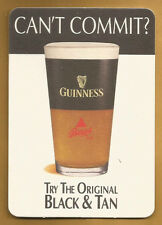 15 Guinness  Harp Bass Half & Half  Black & Tan Can't Commit? Beer Coasters