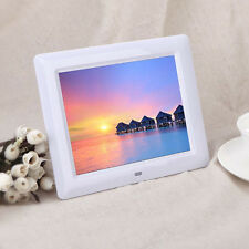 7' HD TFT-LCD Digital Photo Frame with Alarm Clock Slideshow MP3/4 Player Hoc