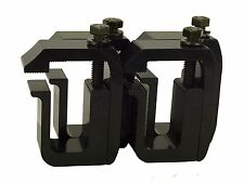 Truck Cap / Camper Shell Clamps, Black Powder Coated (set of 4) by GCI Clamps