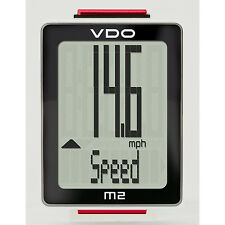 VDO M2 Wired Bicycle Computer, 8 Functions