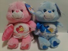 "LAST PAIR 2003 7"" BABY HUGS & TUGS CARE BEARS CARLTON PLAY ALONG 20th NWT EASTER"
