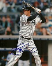 BRENNAN BOESCH NEW YORK YANKEES SIGNED AUTOGRAPHED 8x10 PHOTO W/COA PINSTRIPES