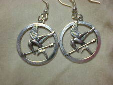 Mockingjay Inspired Earrings Official Hunger Games NECA Card Included