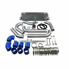 "CXRacing Intercooler 2.5"" Piping + BOV Kit For 05-07 Mazdaspeed6 2.3L Blue Hoses"