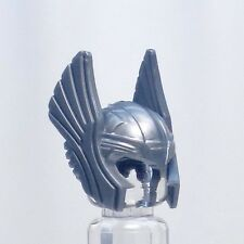 A776 Lego FIT CUSTOM grey Thor hawk man girl minifig HELMET headgear superhero