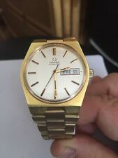 Mens Vintage Swiss Omega Seamaster Day Date Automatic Watch c1970s (1020)