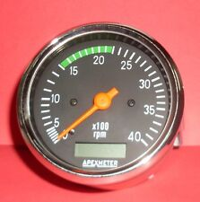 Electronic Tachometer RPM Meter Hour Meter Alternator For Trucks,JCB