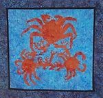 King Crab Pattern by Gary Darwin / PM Quilting FREE US SHIPPING