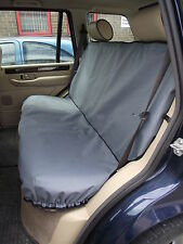 Peugeot Partner Tepee Back Seat Cover (Black) 2008 - Onwards