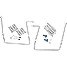2006-2012 HARLEY FXDB DYNA STREET BOB Saddlebag Support Brackets: 3501-0258