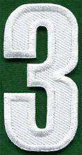 Number 3 numeral math counting three school applique iron-on patch new S-938