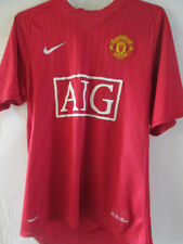Manchester United 2007-2009 Home Football Shirt Size Small /8010