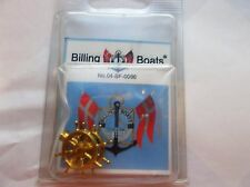 BILLING BOATS 2 WHEELS ON STAND 25MM
