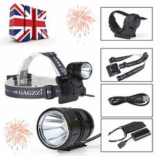 Cree XM-L2 Front Mountain Bike Bicycle Light Headlight Headlamp USB Rechargeable