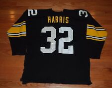 Vintage 1970's Franco Harris Pittsburgh Steelers Durene Sand Knit Jersey-#32