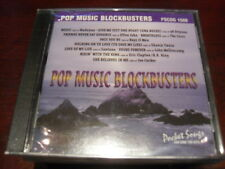POCKET SONGS KARAOKE DISC PSCDG 1506 POP MUSIC BLOCKBUSTERS CD+G MULTIPLEX NEW