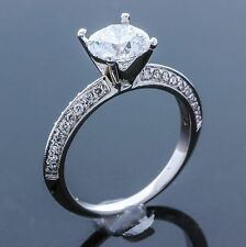 Platinum and Diamond Mounting - (Size - 6.25)