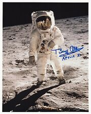 BUZZ ALDRIN APOLLO 11 MOON WALKER -LUNAR EVA- HAND SIGNED 8x10 PHOTO NASA W-LOA
