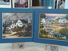 2 MATTED CHARLES WYSOCKI PICTURES CAPE COD GUEST HOUSE HOUNDS OF BASKERVILLE