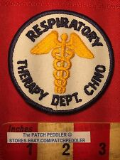 Patch ~ RESPIRATORY THERAPY CHINO - Poss. Chino Valey Medical Center CA  5NB6