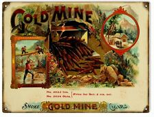 Gold Mine Smoke Cigar and Tobacco Sign