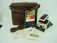 Polaroid SX-70 Model 2 Instant Film Camera w/leather case