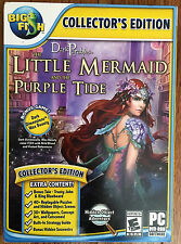 Dark Parables THE LITTLE MERMAID & THE PURPLE TIDE Hidden Object PC Game NEW